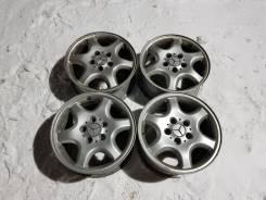 Комплект разношироких дисков на Mercedes R16 оригинал