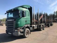 Scania R480. Лесовоз + прицеп лесовоз, 6x4. Под заказ