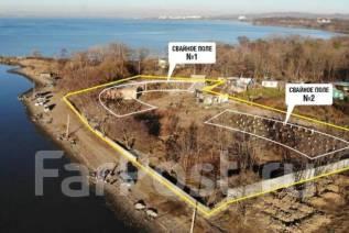 Садгород! Эксклюзивный участок на берегу моря. 8 500кв.м., собственность, электричество, вода