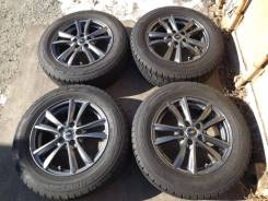 195/65 R15 Dunlop DSX-2 2013г на литье 5*100 Weds Nirvana