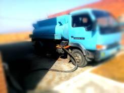 Водовозка. Доставка воды автоцистерной. Услуги водовоза.