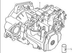 МКПП (механическая коробка переключения передач) VW Passat B3, B4