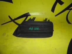 Заглушка в бампер передняя левая TOYOTA Carib AE115