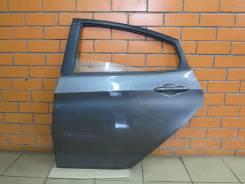Дверь задняя левая Hyundai Solaris (отличное состояние) [серая SAE]