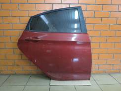 Дверь задняя правая Hyundai Solaris (отличное состояние) [красная TDY]