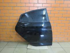 Дверь задняя правая Hyundai Solaris (отличное состояние) [чёрная MZH]