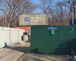Аренда 20 фут. контейнеров под склад ( район Дальхимпром). 14,0кв.м., улица Проселочная 5а, р-н Снеговая