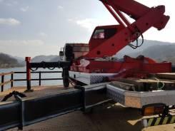 Jinwoo. Автовышка 45 метров на базе Daewoo Novus 2012 года, 5 880куб. см., 45,00м. Под заказ