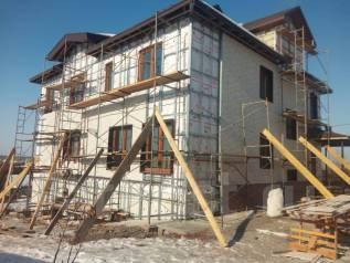 Строительство домов из бруса и газоблоков