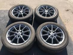215/55 R17 Kinforest KF550 литые диски 5х114.3 (L30-1705)