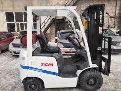 TCM FHG15T3. Вилочный автопогрузчик погрузчик ТСМ, 1 500кг., Бензиновый