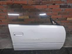 Дверь передняя правая Mark II 96-00 рестайлинг с дефектом