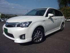 Toyota Corolla Fielder. вариатор, передний, 1.5 (74л.с.), гибрид, б/п. Под заказ