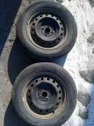 Bridgestone Ecopia EX10 195/65 R15 на штамповке. Лето