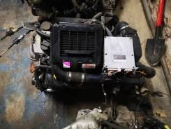 ДВС 1NZ Турбо 1NZ-FET в сборе с 5 ступенчатой МКПП Toyota Vitz NCP13