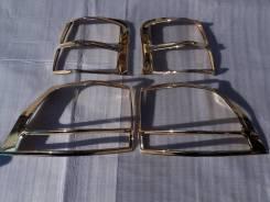 Накладка на стоп Toyota Land cruiser Prado 150, золото. Тайвань. Land cruiser Prado [TLCT125GN], левая/правая задняя