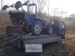 Вспашка земли трактором. раскорчёвка участков. разработка брошенных дач.