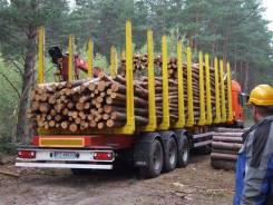 MEGA. Полуприцеп для преевозки лесо МЕГА, 31 200кг. Под заказ