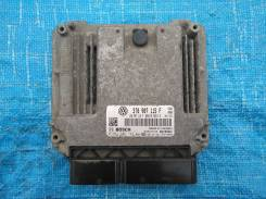Блок управления двигателем эбу 3T0907115F Шкода Октавия А5