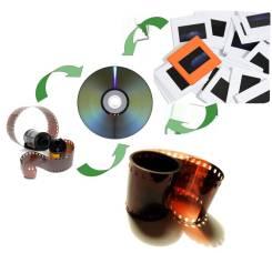 Оцифровка фотопленок, слайдов и фотографий