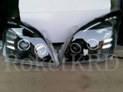 Фары Toyota Land Cruiser Prado GRJ120 02-09г черные