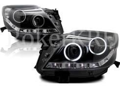 Фары Toyota Land Cruiser Prado GDJ150 09-13 г черные