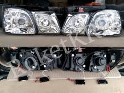Тюнинг Фары Lexus Lx 470 белые
