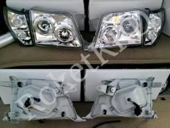 Фары белые Toyota Land Cruiser Prado KZJ95, KDJ90, KDJ90W, KDJ95