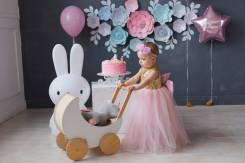 Детская фотостудия - декор, крушение тортика