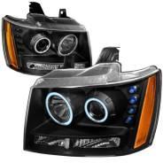Передние фары «Eagle Eyes» для Chevrolet Tahoe GMT900 (2006-2014)