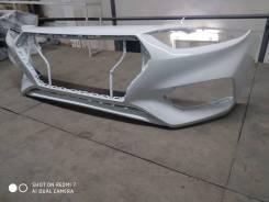 Бампер передний Hyundai Solaris 17-г. в. новый, белый.