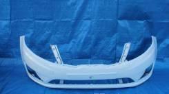 Бампер передний KIA RIO 2010-2014 г. в. Белый PGU в цвет кузова Новый