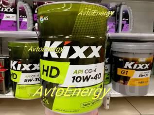 Kixx HD. 10W-40, полусинтетическое, 20,00л.