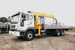 Daewoo Novus. 15 тонн с манипулятором Soosan 746 (7т) / 2021 год, 7 640куб. см., 15 000кг., 6x4