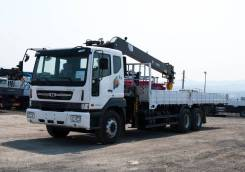 Daewoo Novus. 15.5 тонн HIAB 190 (7тонн) - 2021 года, 7 640куб. см., 15 000кг., 6x4