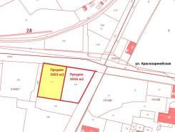 Продам участок в городе Благовещенск. 3 456кв.м., собственность