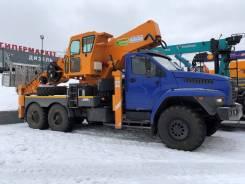 Hansin HS 450A. Автогидроподъемник Hansin HS 450А 45 метров на Урал Некст 4320, 6 650куб. см., 45,00м.