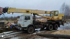 КамАЗ. Автокран Камаз кс-55713, 25 тонн