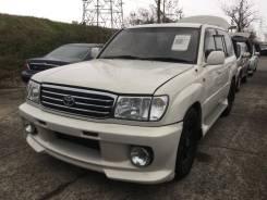 Бампер передний с туманками на Toyota Land Cruiser 100