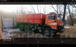 Вывоз снега, мусора, КамАЗ 15 м3.