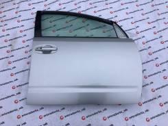 Дверь правая передняя цвет серый 1F7 Toyota Prius NHW20