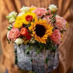 Доставка цветов. Свадебные букеты
