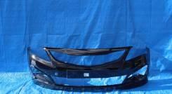 Бампер Hyundai Solaris 2014 - 2017 г. в. Черный MZH в цвет кузова