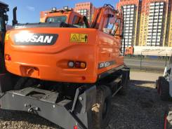 Doosan DX160 W. Экскаватор колесный Doosan DX160W, 0,75куб. м.