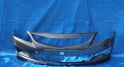 Бампер Hyundai Solaris 2014 - 2017 г. в. Серый SAE в цвет кузова