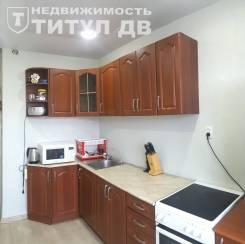 1-комнатная, улица Шилкинская 15. Третья рабочая, проверенное агентство, 35,9кв.м. Интерьер