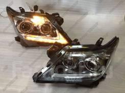 Фары Lexus LX570, LX 570 2012-2015 Белые Динамический поворот URJ201,