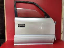Дверь Правая Передняя Toyota Land Cruiser Prado 95 (Серебро K73)