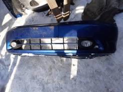 Бампер Honda Stream RN3 K20 Синий 1 поколение 2000-2002г