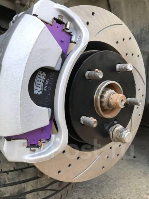 Тормозные диски вентилируемые с перфорацией и слотированием Tayga